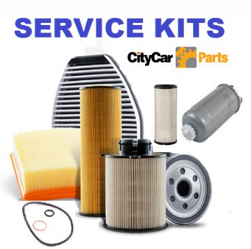 PEUGEOT 206 1.6 16V OIL AIR FUEL CABIN FILTERS PLUGS 04-05 SERVICE KIT
